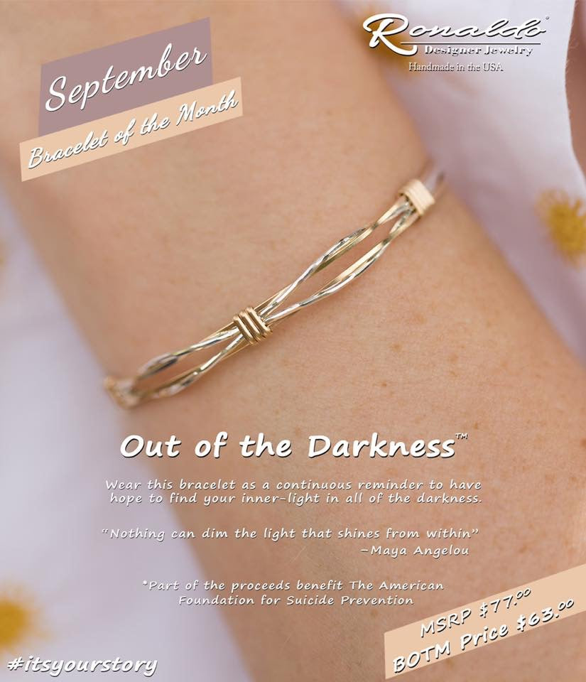 Out of Darkness bracelet