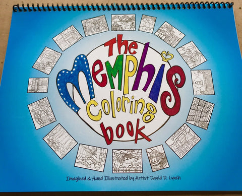 Memphis Coloring Book by David Lynch