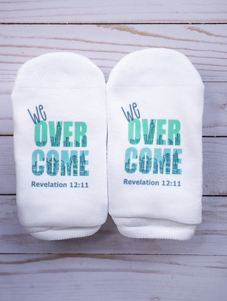Socks We Overcome Revelation 12;11