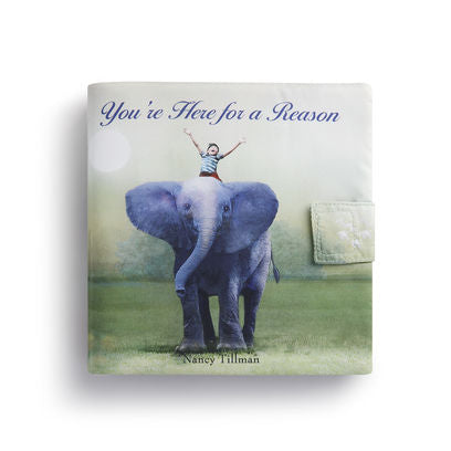 You're Here For a Reason Nancy Tillman Soft Story Book