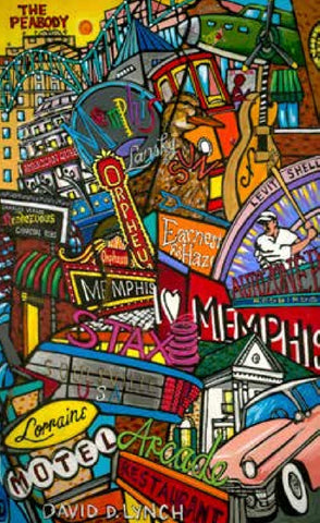 #69 MEMPHIS BUCKET LIST 1 PRINT BY DAVID LYNCH