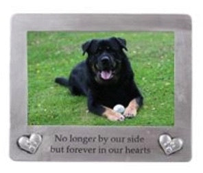 Pet Memorial Frame 40297 for cat or dog