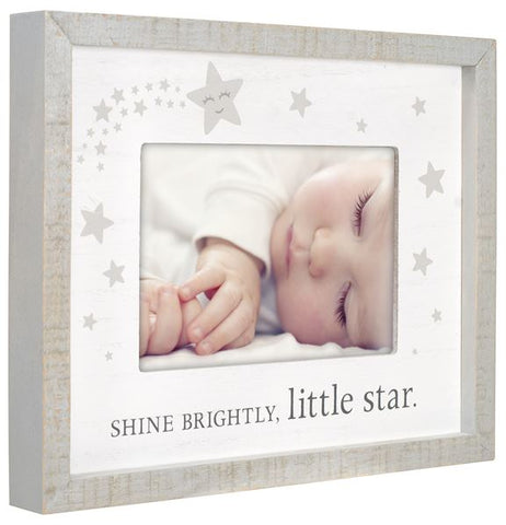 """Shine Bright Little Star"" Baby Photo Frame"