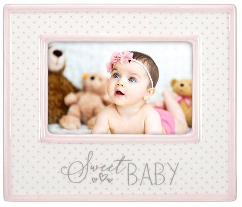 Sweet Baby Ceramic Frame