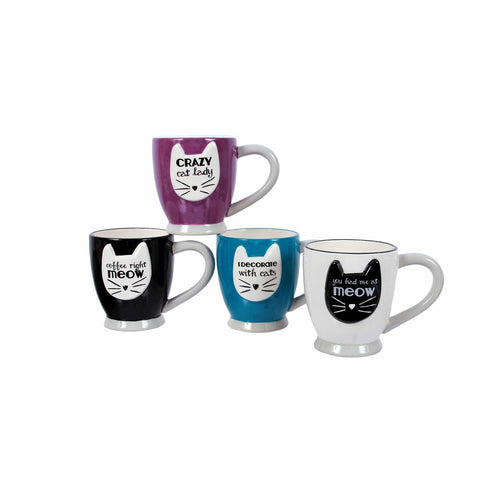 Cat Sayings Teacups