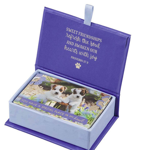Box of Blessings Little box of friendship pass around cards