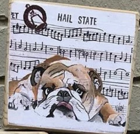 SEC  Mug HAIL STATE MS Bulldogs