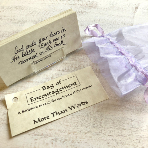 Bag of Encouragement gift for someone going through difficult time