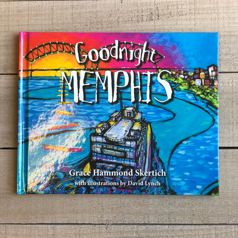 Goodnight Memphis Children's Book artist David Lynch