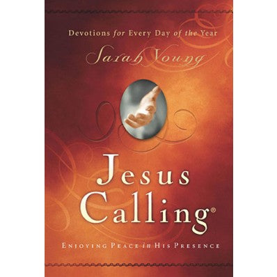 Jesus Calling Hard Cover Daily Devotional
