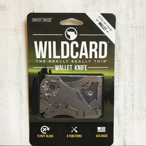 WildCard Wallet Tool Knife