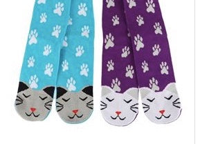 Cat Face Paws Socks 40029