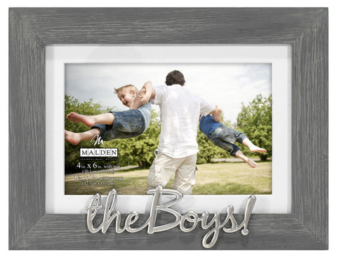 The Boys Gray Distressed Frame