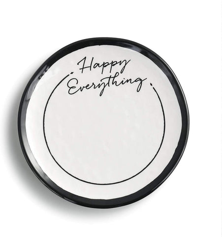 Happy Everything Dessert Plate