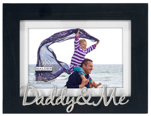 """Daddy & Me"" Photo Frame"