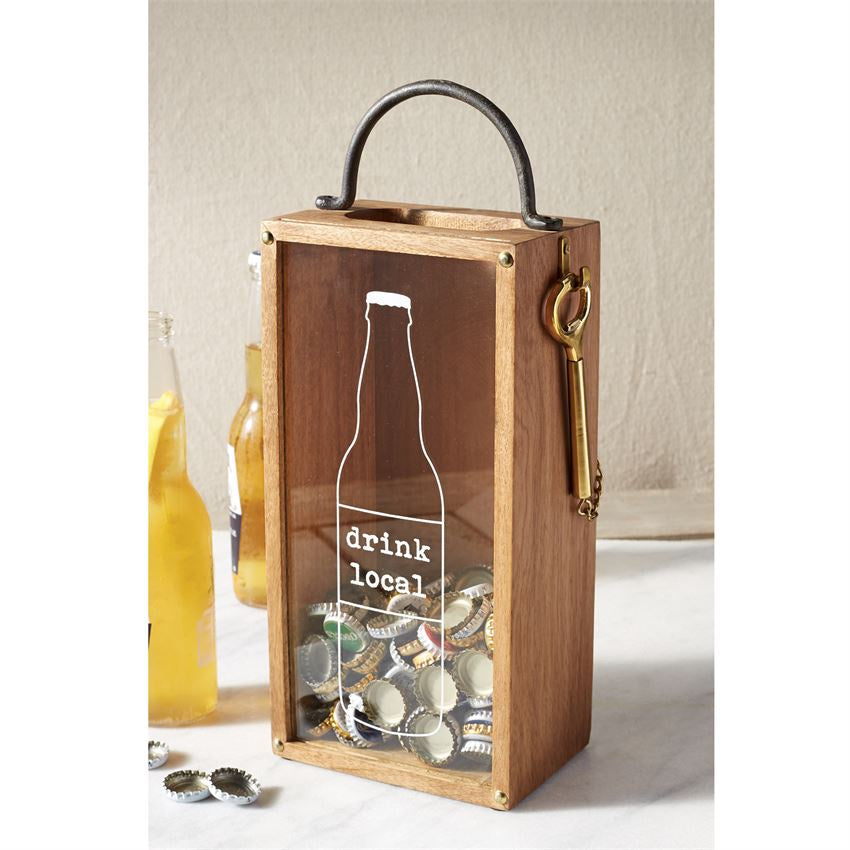 Beer Cap Display Box