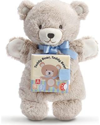 Puppet Book Teddy Bear
