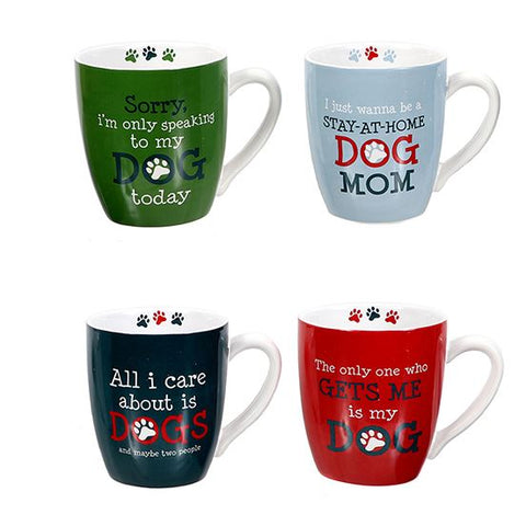 Dog Sayings Oversized Mug