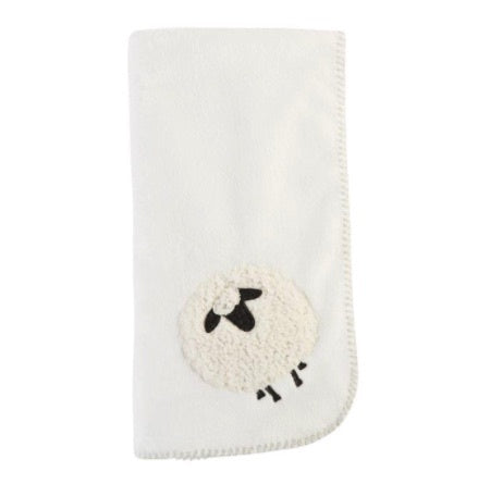 Sheep Fleece Baby Blanket