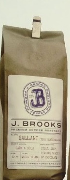J. Brooks Gallant Gourmet Coffee (locally roasted & gound)