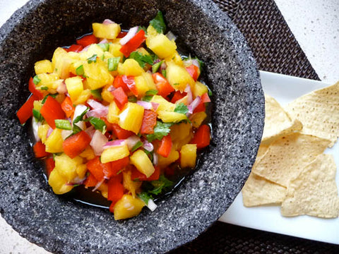 Paleo Pineapple Salsa Recipe