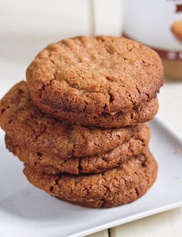 paleo almond butter banana cookies recipe paleochoice