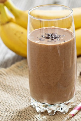 Paleo Cacao Banana Smoothie Recipe
