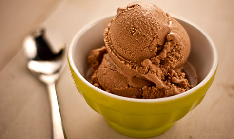 Paleo Chocolate Almond Ice Cream Recipe