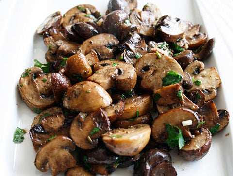 Paleo Balsamic Mushrooms Recipe