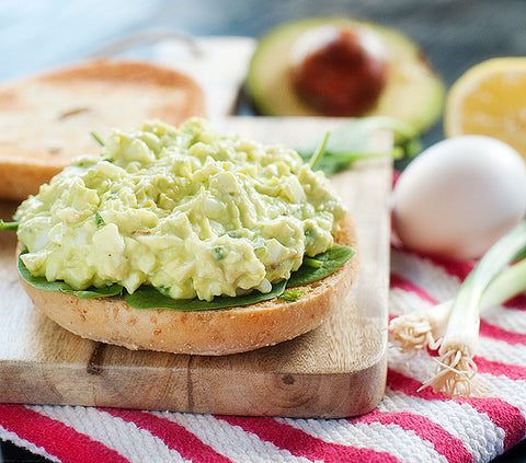 Paleo Avocado Egg Salad Recipe