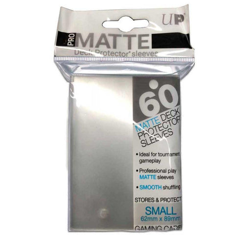 Ultra Pro Pro-Matte Deck Protector Small Clear 60ct