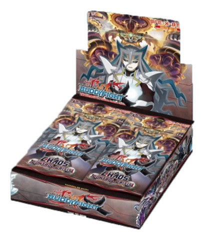 BUDDYFIGHT BOOSTER BOX VOL. 2 - CHAOS CONTROL CRISIS (BFE-X-BT02 )-English (Release date 14 July 2017)