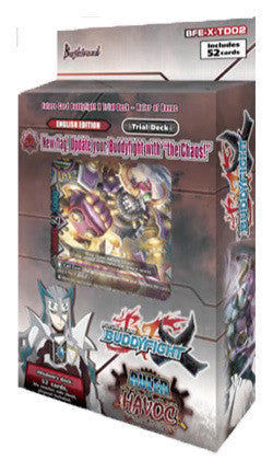 BUDDYFIGHT TRIAL DECK VOL. 2 - RULER OF HAVOC (BFE-X-TD02)-English (Release date 14 July 2017)