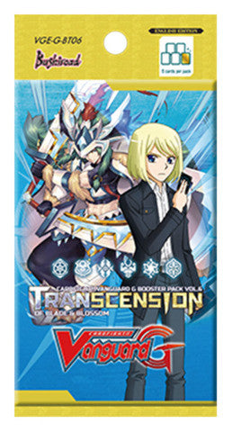 Cardfight VANGUARD G BOOSTER Pack VOL. 06 TRANSCENSION OF BLADE & BLOSSOM - ENGLISH