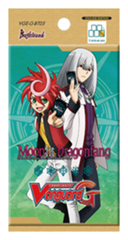Cardfight VANGUARD G BOOSTER pack VOL. 05 MOONLIT DRAGONFANG - ENGLISH
