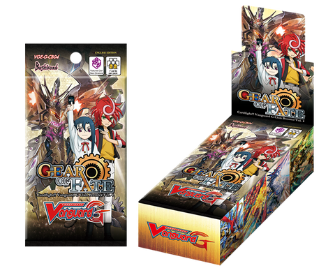 Cardfight!! VANGUARD G CLAN BOOSTER BOX VOL. 4 - GEAR OF FATE - ENGLISH (release date: 04/11/2016)