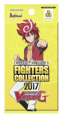 Cardfight!! Vanguard FIGHTERS COLLECTION 2017 Booster Pack - ENGLISH (Release date 09/06/2017)