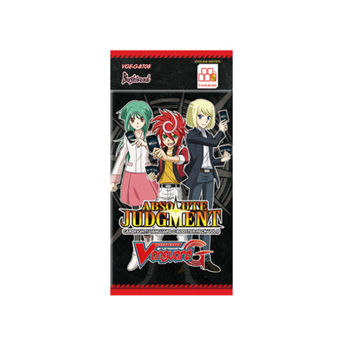 Cardfight!! Vanguard G Booster Pack Vol. 8 - Absolute Judgment - ENGLISH (release date: 07/10/2016)
