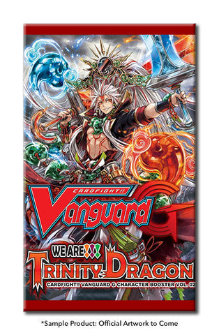 Cardfight!! Vanguard G CHARACTER BOOSTER Pack VOL. 02 - WE ARE!!! TRINITY DRAGON - ENGLISH (Release date 24/03/2017)