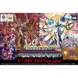 Cardfight Vanguard G CLAN BOOSTER BOX VOL. 06 (VGE-G-CB06) -RONDEAU OF CHAOS AND SALVATION - ENGLISH (Release date 1/12/2017)