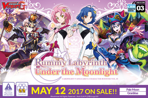 Cardfight!! Vanguard G Character Booster Vol.3-Rummy Labyrinth Under the Moonlight-English