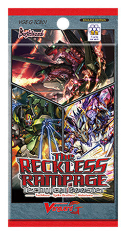 Cardfight!! Vanguard G TECHNICAL BOOSTER Pack VOL. 01 - THE RECKLESS RAMPAGE- - ENGLISH