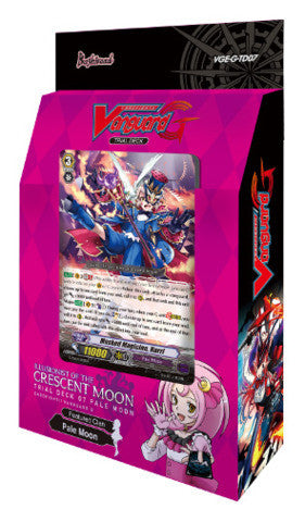 Cardfight Vanguard G TRIAL DECK VOL. 07 ILLUSIONIST OF THE CRESCENT MOON - ENGLISH