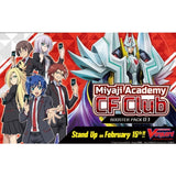 Cardfight Vanguard V Booster Pack Vol. 03 (VGE-V-BT03) Miyaji Academy CF Club-English (Release date 15/02/2019)