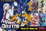 Cardfight Vanguard V Booster Pack Vol. 04 (VGE-V-BT04) Vilest! Deletor-English (Release Date 22/03/2019)