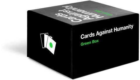Cards Against Humanity Green Box (only available at store)