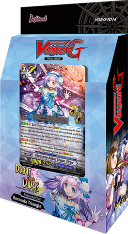 Cardfight!! Vanguard G Trial Deck Vol. 14: Debut of the Divas - English (Release date 21 July 2017)
