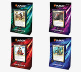 Magic: The Gathering Commander 2019 Set of  4 (Release Date 23 /08/2019)