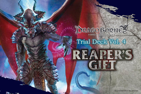 DRAGOBORNE TRIAL DECK VOL.4 - REAPER'S GIFT - ENGLISH (Release date 10 November 2017)