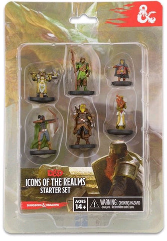 D&D Icons of the Realms New Starter Set